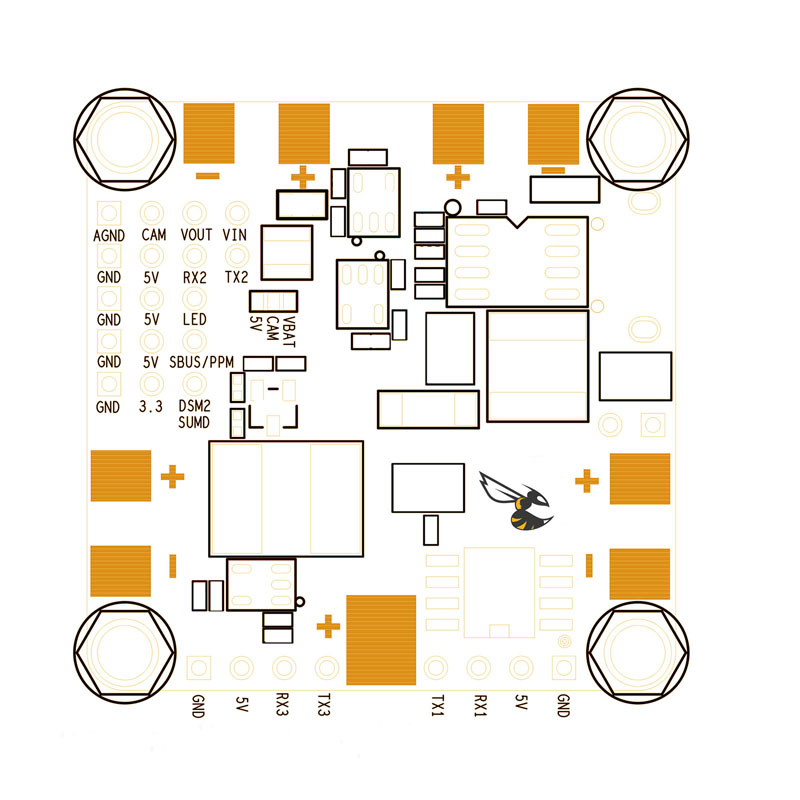 betaflight f4 schematic