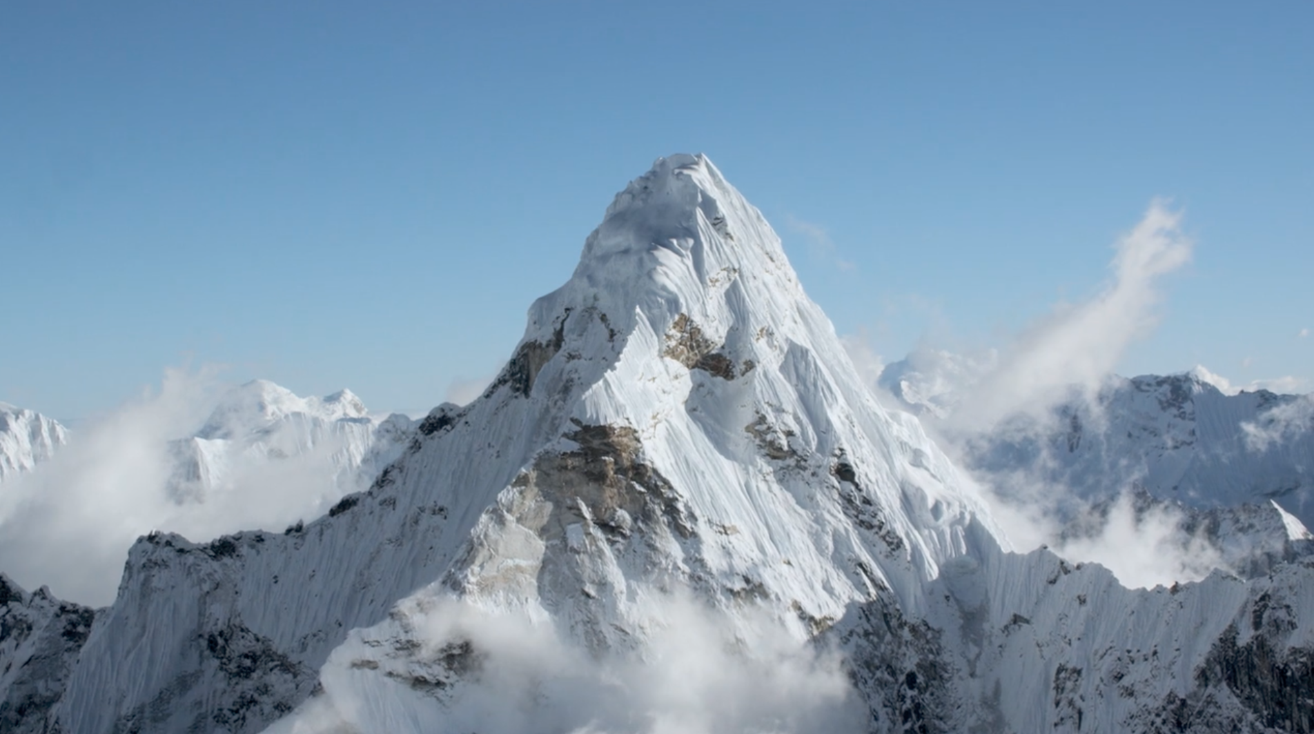 drone mt everest